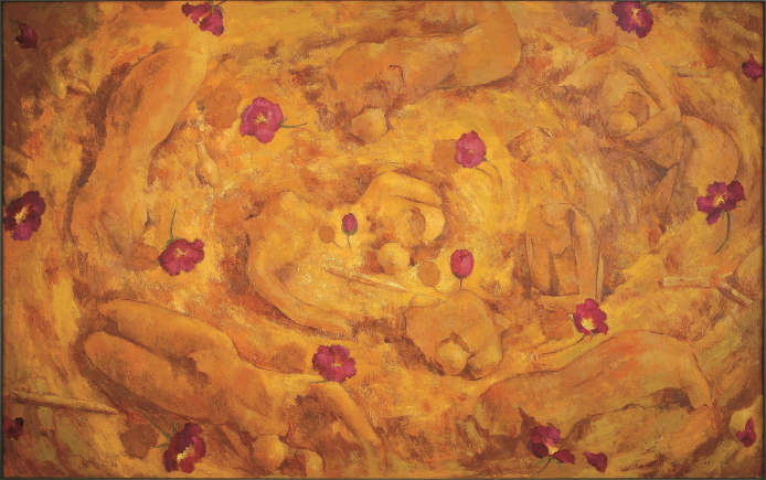 Song of the Flesh, 1997, Oil on canvas, 162.2x259cm