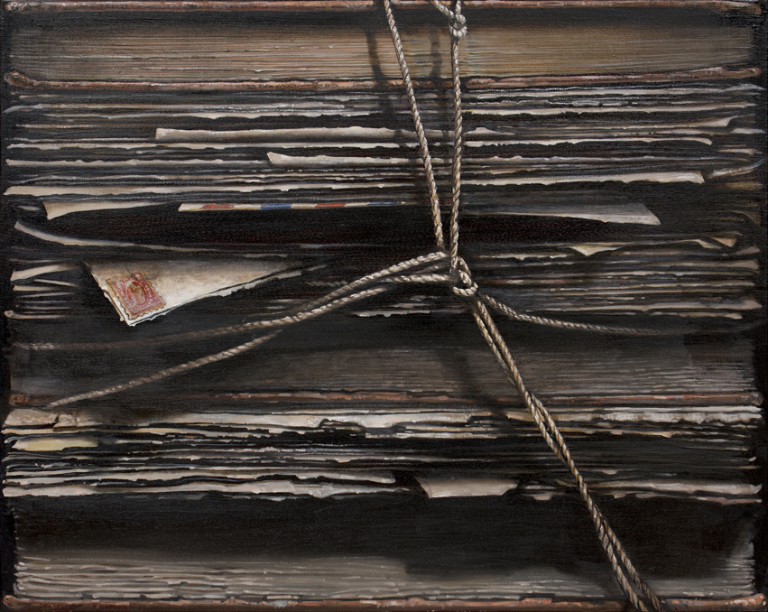Hardbacks#11, 2015, Oil on canvas, 73x91cm