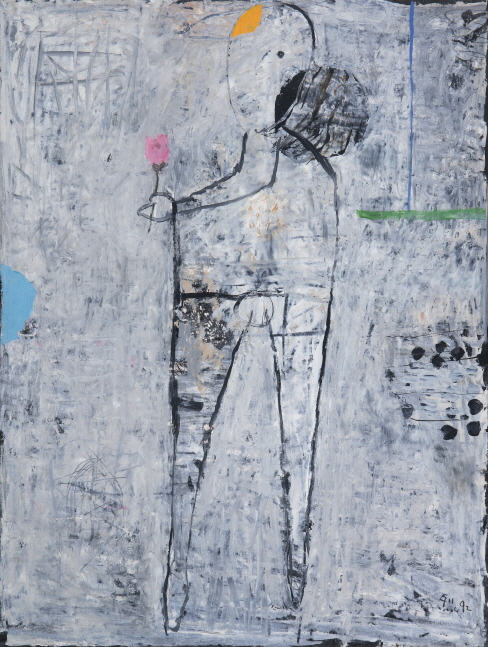 Untitled, 1992, Mixed media, 74x56cm