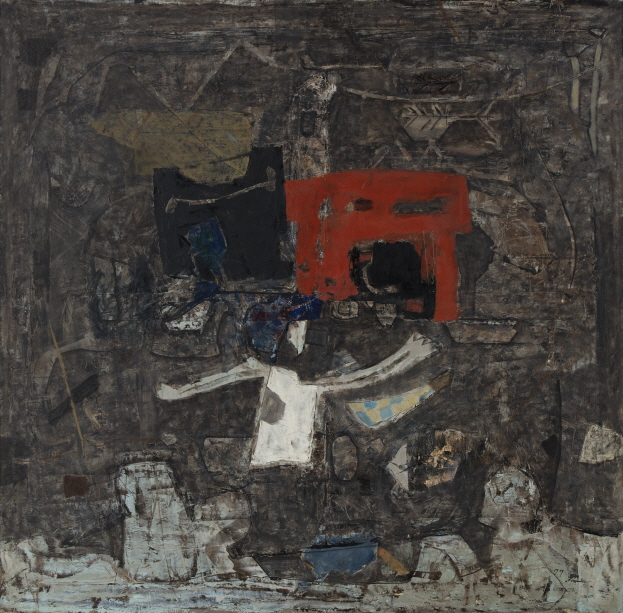 Untitled, 1977, Mixed media, 130x130cm