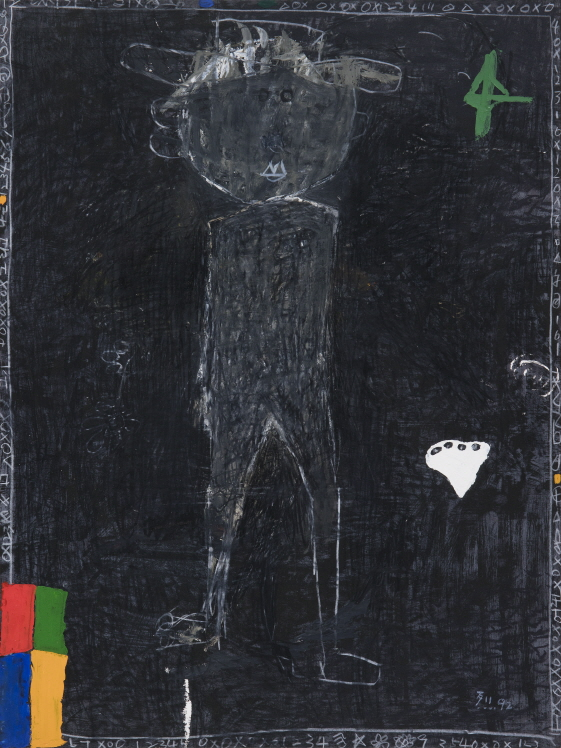 Untitled, 1992, Mixed media, 76x55.5cm
