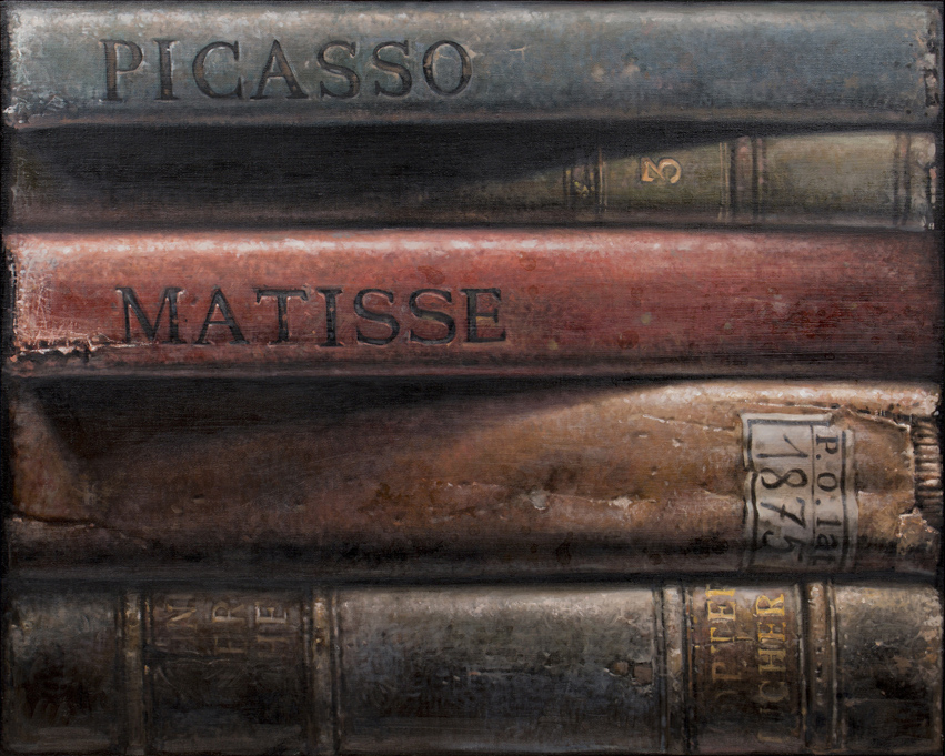 Hardbacks#3, 2015, Oil on canvas, 73x91cm