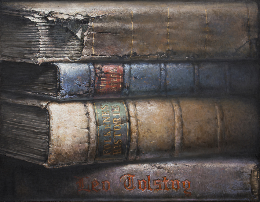 Hardbacks#13, 2015, Oil on canvas, 73x91cm