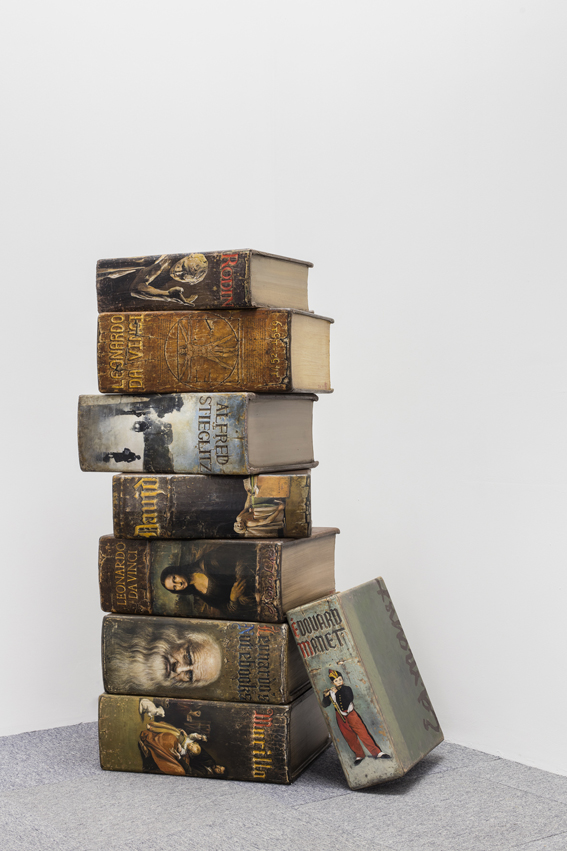 Hardbacks, 2015, Mixed media, Variable