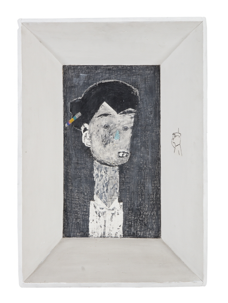 Untitled, 1990, Mixed media, 68x48cm