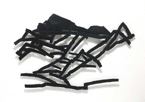Untitled, 2013, Steel, Polyurethane, 147x233x12cm